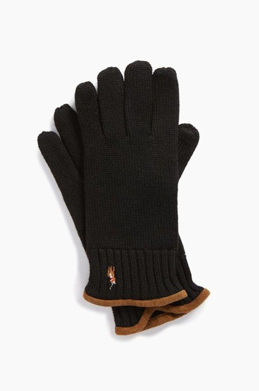POLO Classic Lux Merino Touch Glove Polo/Brown