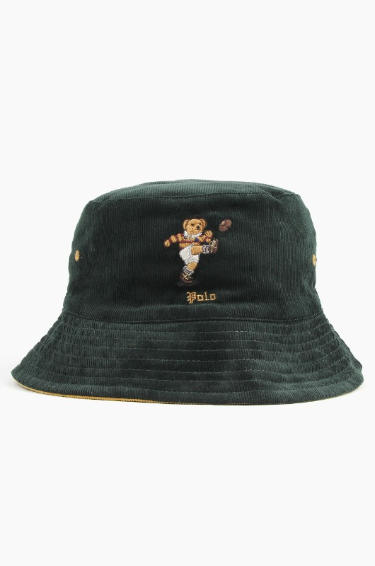 POLO Andrew Bear Bucket Green/Gold