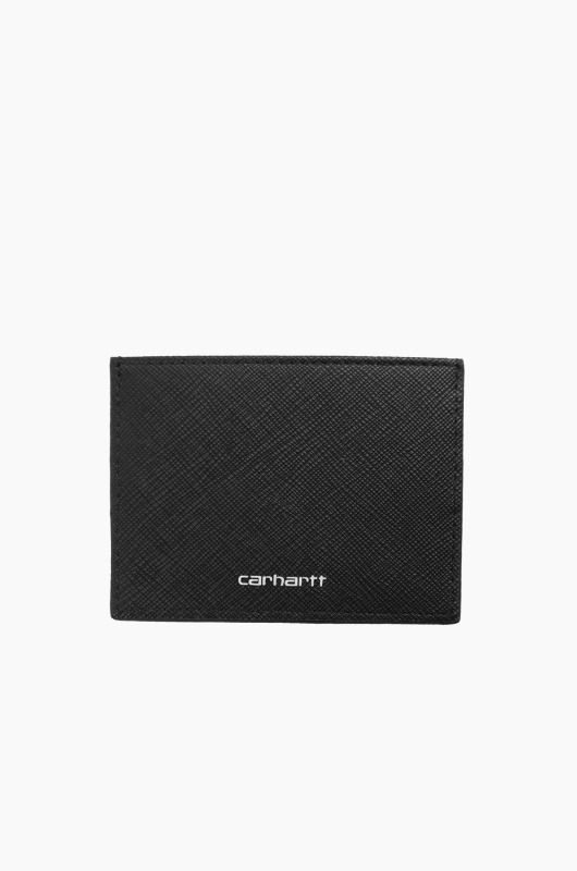 CARHARTT-WIP Coated Card Holder Black/White