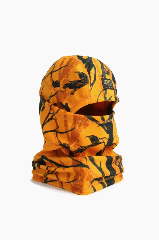 CARHARTT-WIP Mission Mask Camo Tree Orange