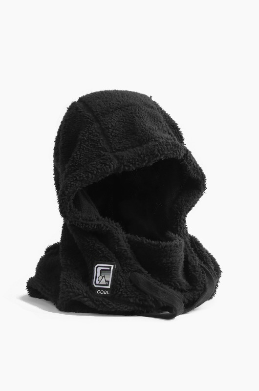 COAL The Ridge Hood Black