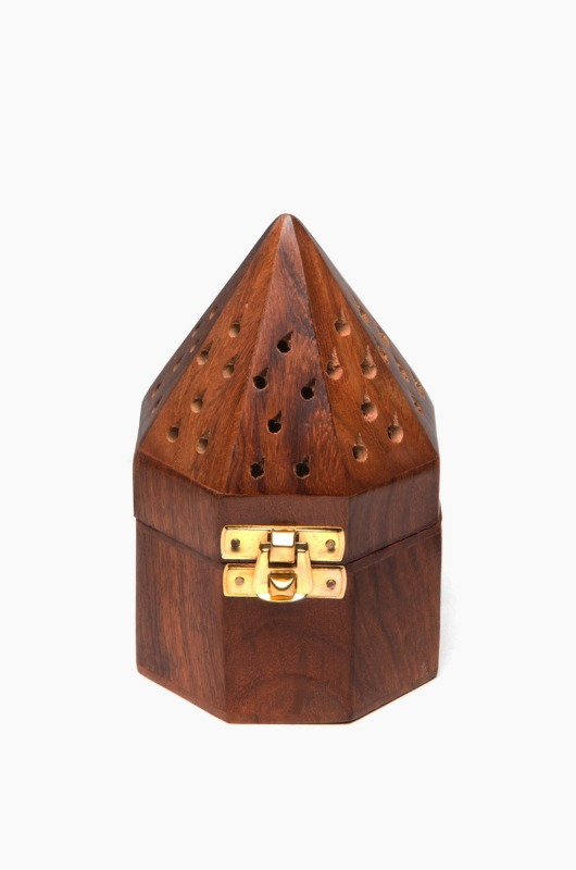 INCENSE Cone Holder Octagon Pyramid