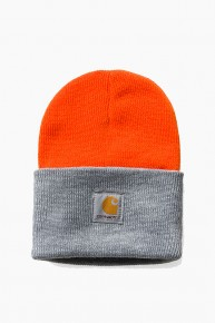 CARHARTT-WIPBi-Colored Beanie Orange/Grey