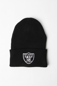NFL Raiders Beanie Black