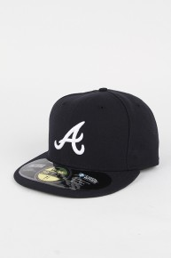 NEWERA Authentic On Field Road Cap Atlanta Braves