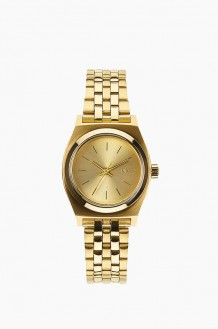 NIXON Small Time Teller Gold