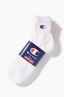 CHAMPION Half Socks White(3pk)