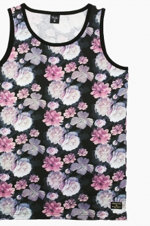 PRIMITIVE Rose Noir Tank Black Multi