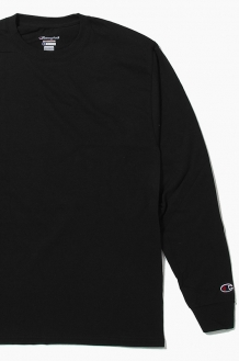 CHAMPION Basic L/S Black