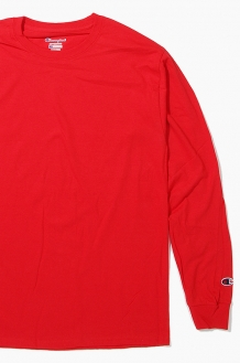 CHAMPION Basic L/S Red