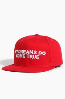 808My Dreams Do Come True Snapback Red