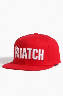 808 RRiatch Snapback Red