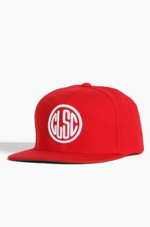 CLSCStamp Snapback Red