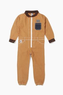CHUMS Kids Hurricane Coverall Booby Camel
