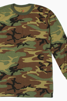 ROTHCO Long Sleeve T W.Camo