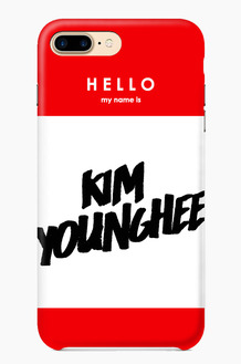 CHILLN Graphic Case Hello My name is