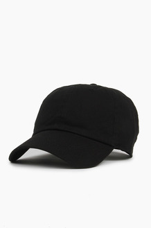 NEWHATTAN Cotton Ballcap Black