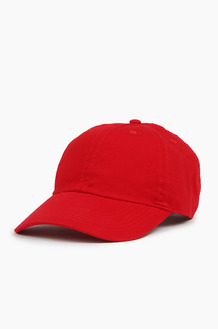 NEWHATTAN Cotton Ballcap Red