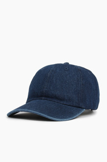 NEWHATTAN Denim Ballcap Dark Blue