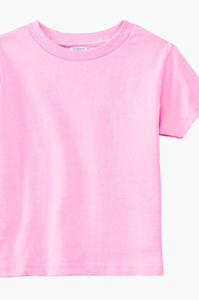 RABBIT SKINS Toddler Tee Pink