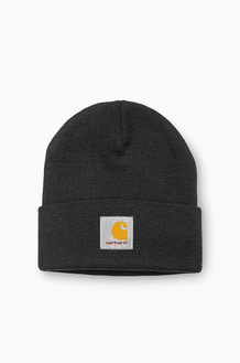 CARHARTT-WIP Short Watch Beanie Black