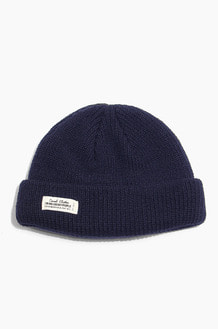 TNP WH Label Watch Cap Navy