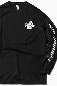 THE FAMOUS BURGER TFB L/S Black