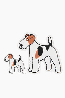 WARF Fox Terrier Sticker