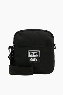 OBEY Drop Out Traveler Bag Black