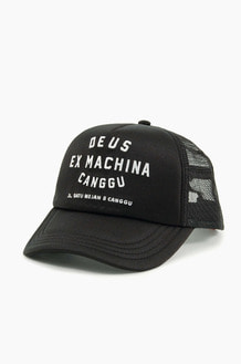 DEUS Canggu Address Trucker Cap Black