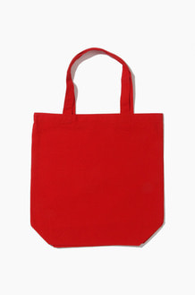 PLAIN Canvas Eco Bag Red