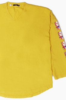 OBEY Can You Feel It l/s Yellow
