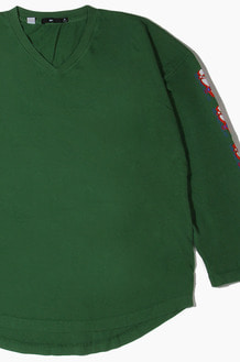 OBEY Can You Feel It l/s Green