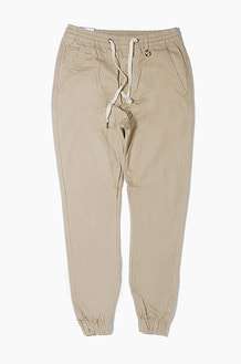 HYPER DENIM Drop Crotch Jogger Khaki