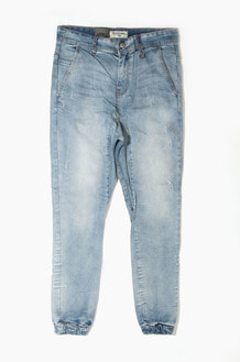 HYPER DENIM Drop Crotch Denim Jogger Lt.Blue
