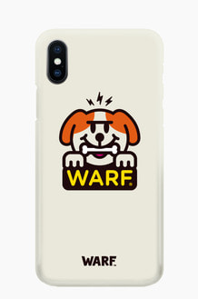 WARF Bone Dog Mobile Case Cream