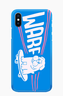 WARF Skate Dog Mobile Case Blue