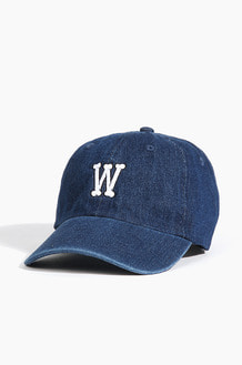 Warf Bone Logo Cap Dark Blue