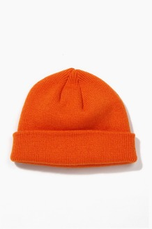 Plain Beanie Standard Orange