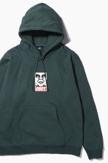 OBEY Icon Face Hood Alpine