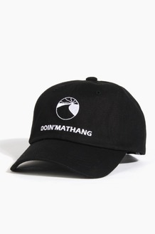 DOIN'MATHANG EMB Ball Cap Black