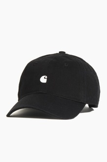 CARHARTT-WIP Madison Logo Cap Black/White