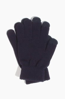 Plain  Spectator Touch Glove Navy