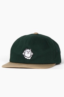RIPNDIP Nermamaniac Strapback Tan/Hunter Green