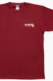 DAMNGOODLIFE Unavoidable S/S Burgundy
