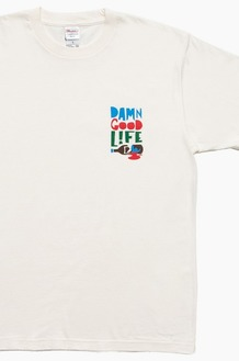 DAMNGOODLIFE Miss S/S Ivory