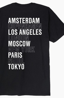 OBEY Intl Cities S/S Black