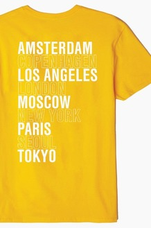 OBEY Intl Cities S/S Gold