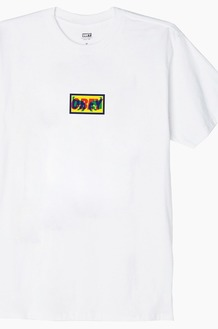 OBEY Transparent S/S White