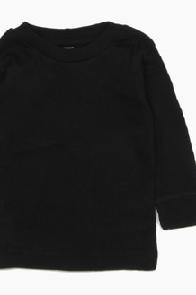 RABBIT SKINS Infant L/S Black